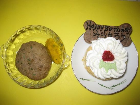 5ディナーとケーキ2 620