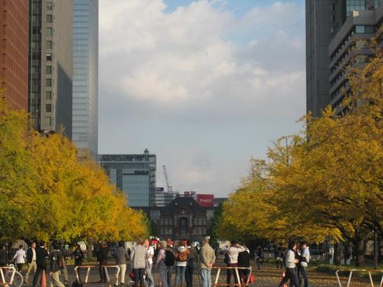 10皇居から東京駅 1117