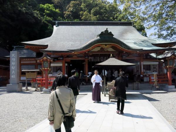 熊野那智大社本宮