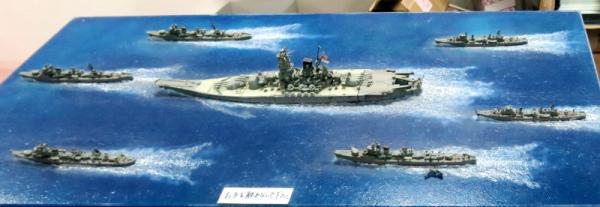 天1号作戦時の戦型