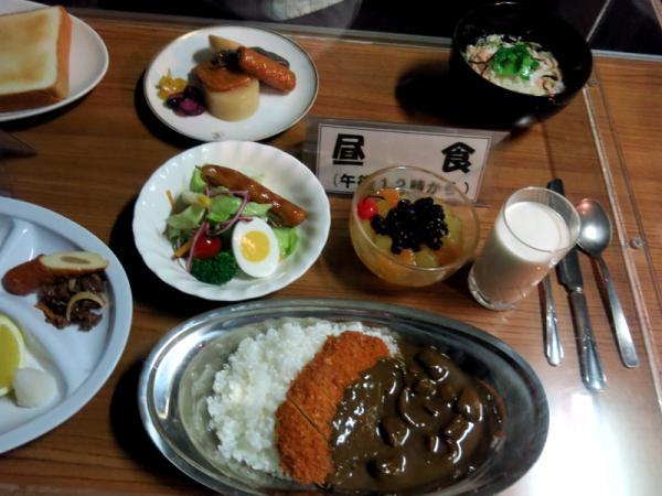潜水艦艦内食(昼食)