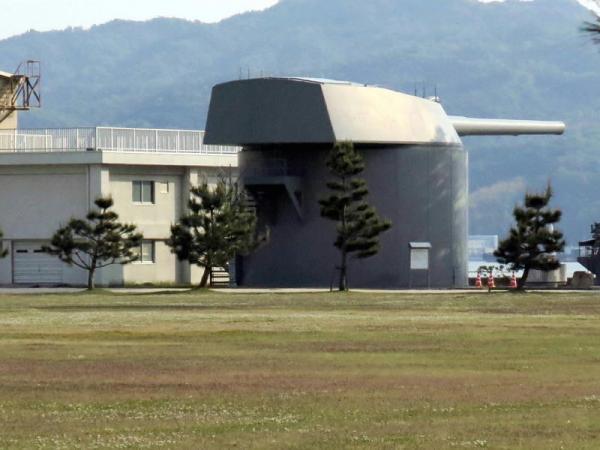 戦艦陸奥第4砲塔
