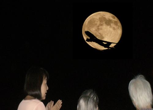 20130925 桃花林 お月見