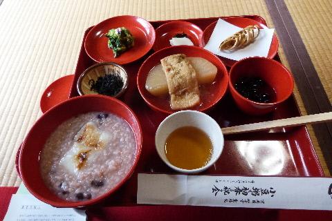 小豆粥・精進料理 東林院