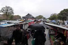 東寺 露店①