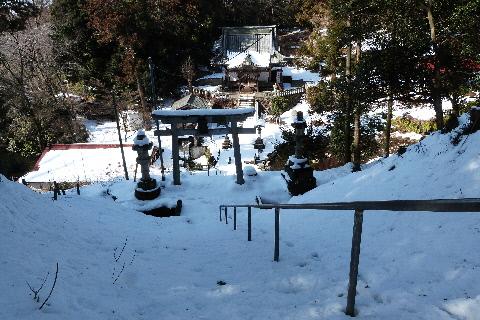 2014年2月10日撮影木曾三社神社⑧