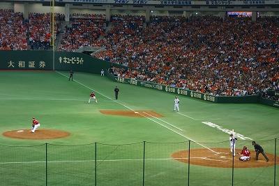 巨人対楽天第5戦02