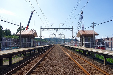 北海道新幹線列車駅1