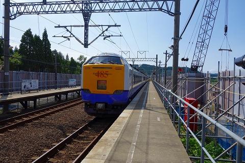 北海道新幹線列車駅17