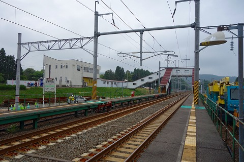 北海道新幹線列車駅20