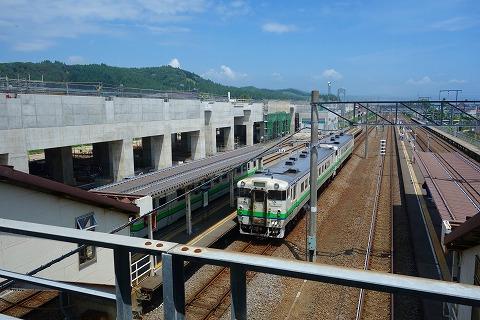 北海道新幹線列車駅24