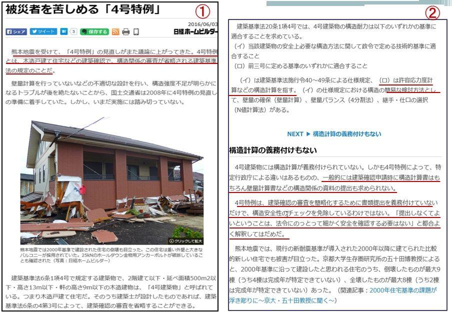 株)木村建設 住宅事業部Bauhaus. 4号特例について