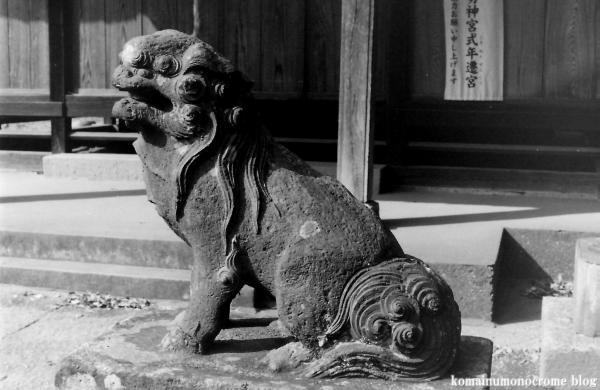 久伊豆神社(さいたま市岩槻区南下新井)1