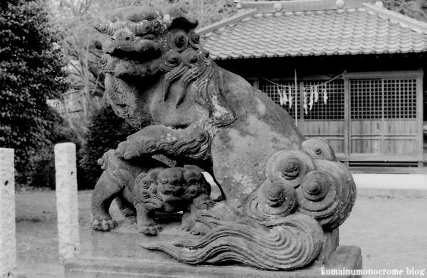 久伊豆神社(さいたま市岩槻区村国)1