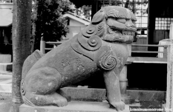 西堀氷川神社(さいたま市桜区西堀)3