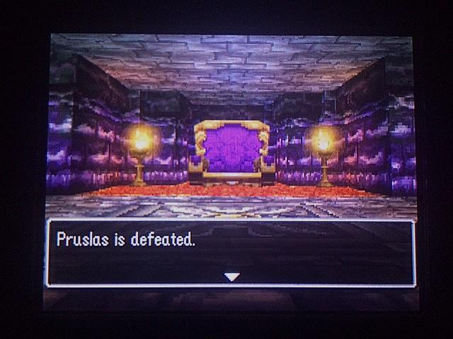 ドラクエ4 北米版 バリア破壊第一の関門28
