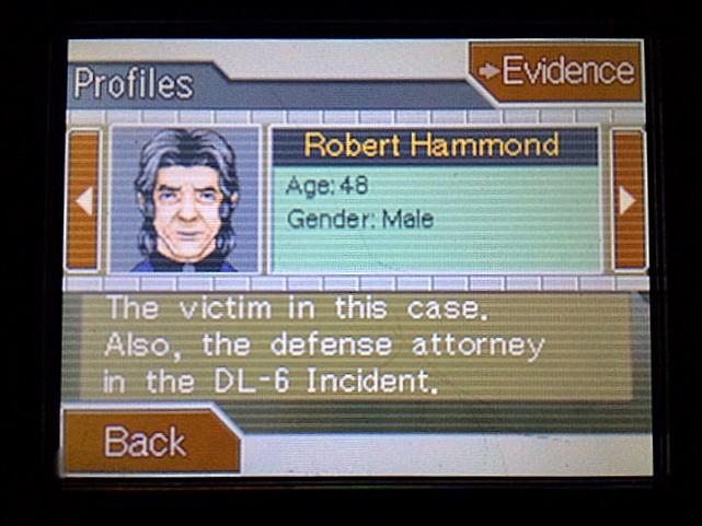 逆転裁判 北米版 被害者の身元28