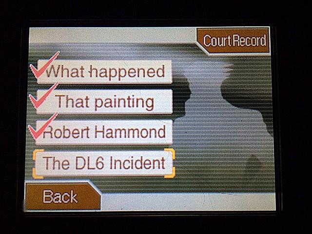 逆転裁判 北米版 DL-6事件2