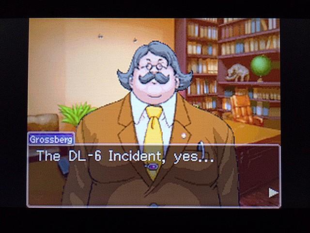逆転裁判 北米版 DL-6事件3