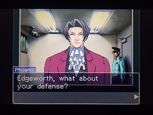 逆転裁判 北米版 エッジワースの胸中3
