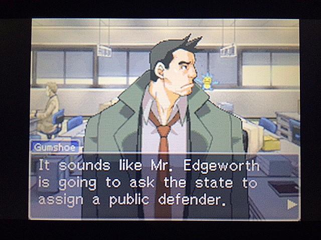 逆転裁判 北米版 マイルズ・エッジワースの弁護人7