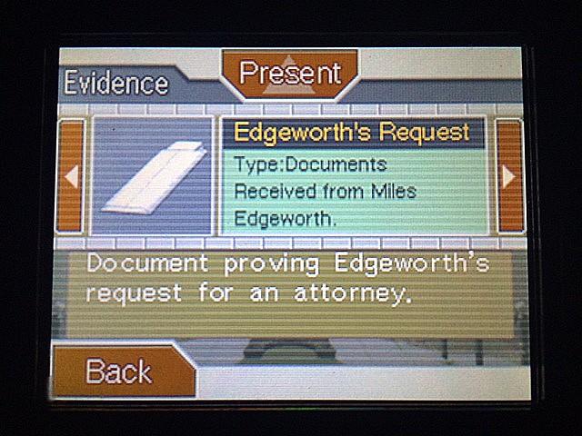 逆転裁判 北米版 マイルズ・エッジワースの弁護人12