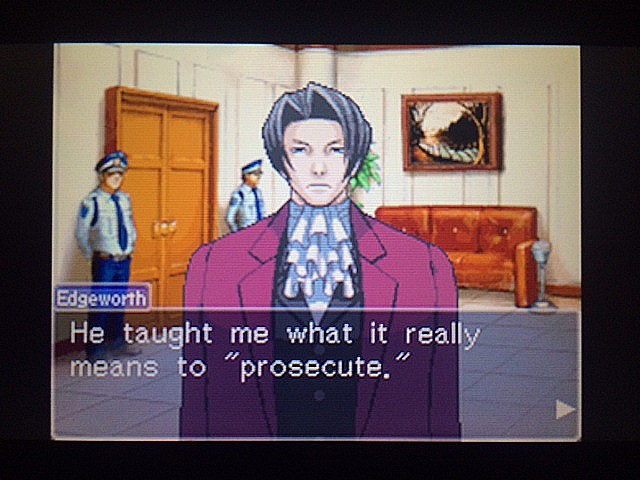 逆転裁判 北米版 審理前被告人控室12