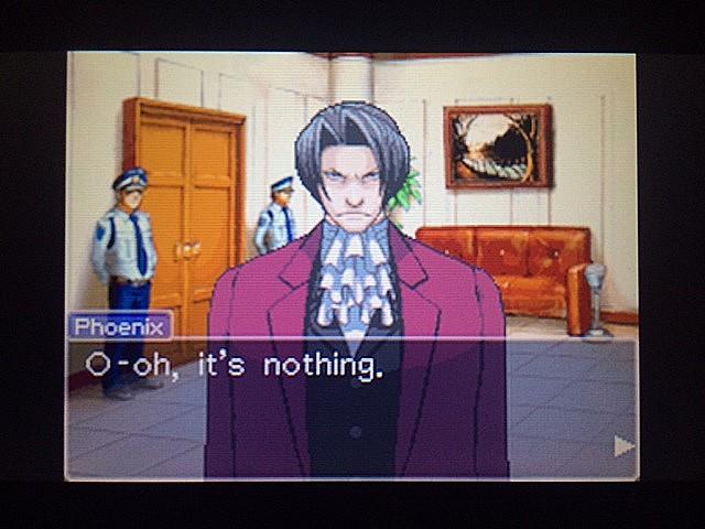 逆転裁判 北米版 審理前被告人控室41
