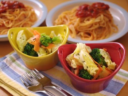 イタリアンサラダ・バジルと蜂蜜のドレッシング