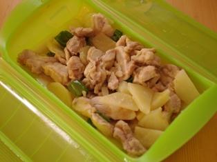 レンジで簡単鶏肉のみそ煮03