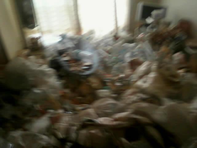 ゴミ屋敷・汚部屋状態です!