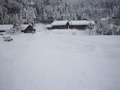 大雪(あくまでイメージです)