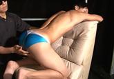 ゲイ動画:[男のプリケツ] エロ筋競パン男子のつるつるプリケツでGO !! 好帥哥