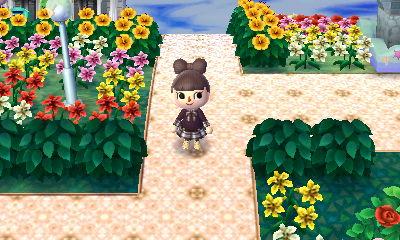とび森 洋風な村