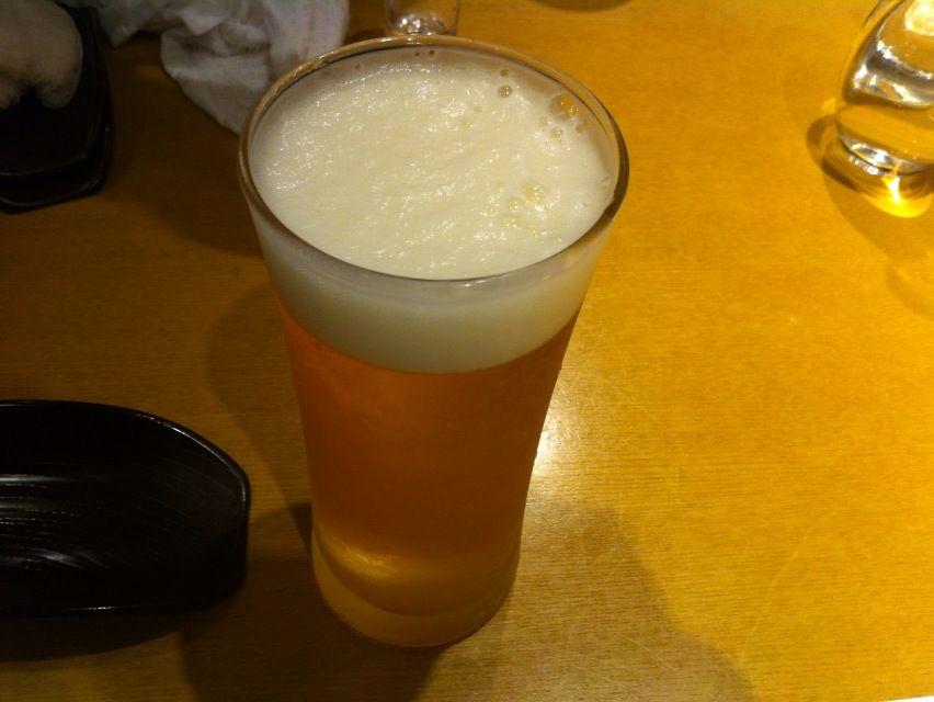 天喜代メニュー生ビール
