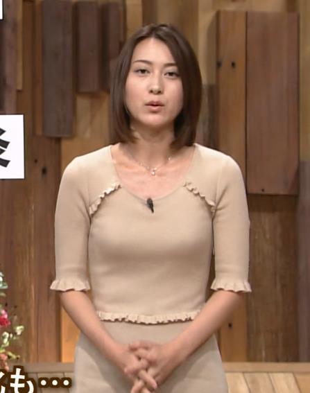 小川彩佳 巨乳キャプ・エロ画像2