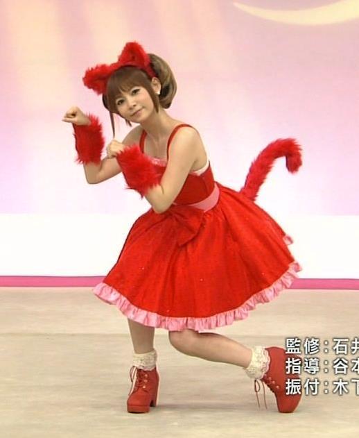 中川翔子 まだまだかわいいネココスプレキャプ画像(エロ・アイコラ画像)