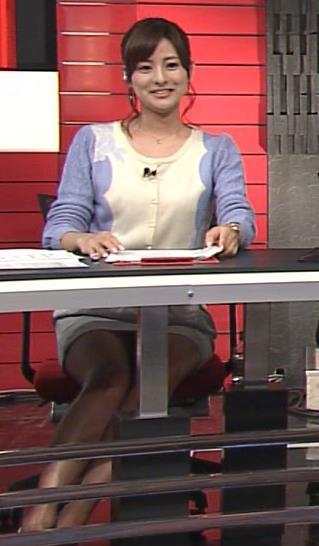 徳島えりか パンチラ?ミニスカのデルタゾーン(Going! Sports&News 20140119)キャプ画像(エロ・アイコラ画像)