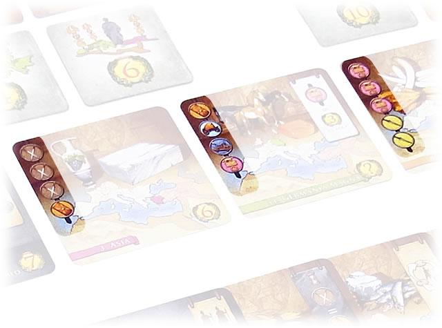 アウグストゥス:目的カードの印