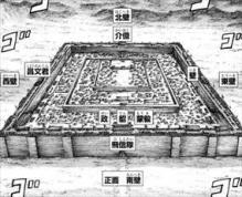 キングダム31巻【蕞】の配置図
