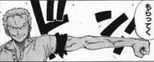 ONE PIECE11巻ゾロ「鬼徹をもらっていく」