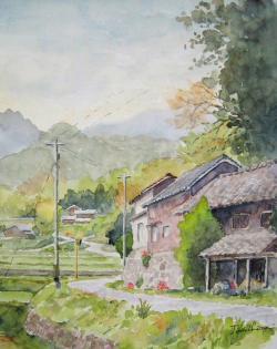 山里の道-前原市井原