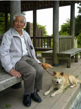 二本松郊外の仮設住宅に住む、おじいちゃまと知り合いました