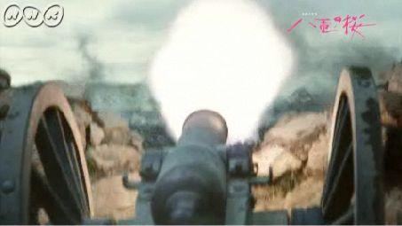 会津の大砲、四斤山砲 ズドドドォーン尚之助の指揮する正確な砲車に敵も圧倒され