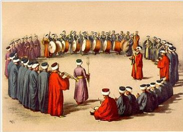 オスマン時代のメフテラン(軍楽体制)